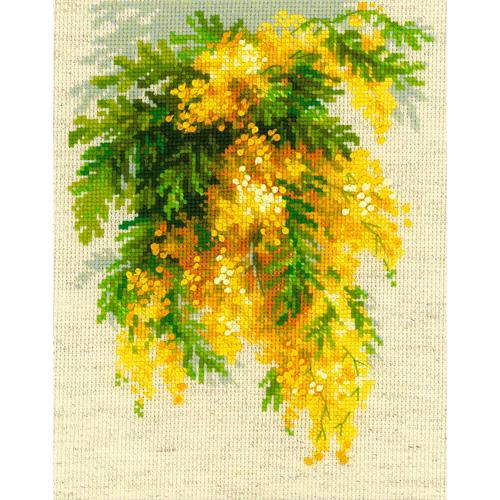 1615 Набор для вышивания Риолис 'Мимоза'18*24 см