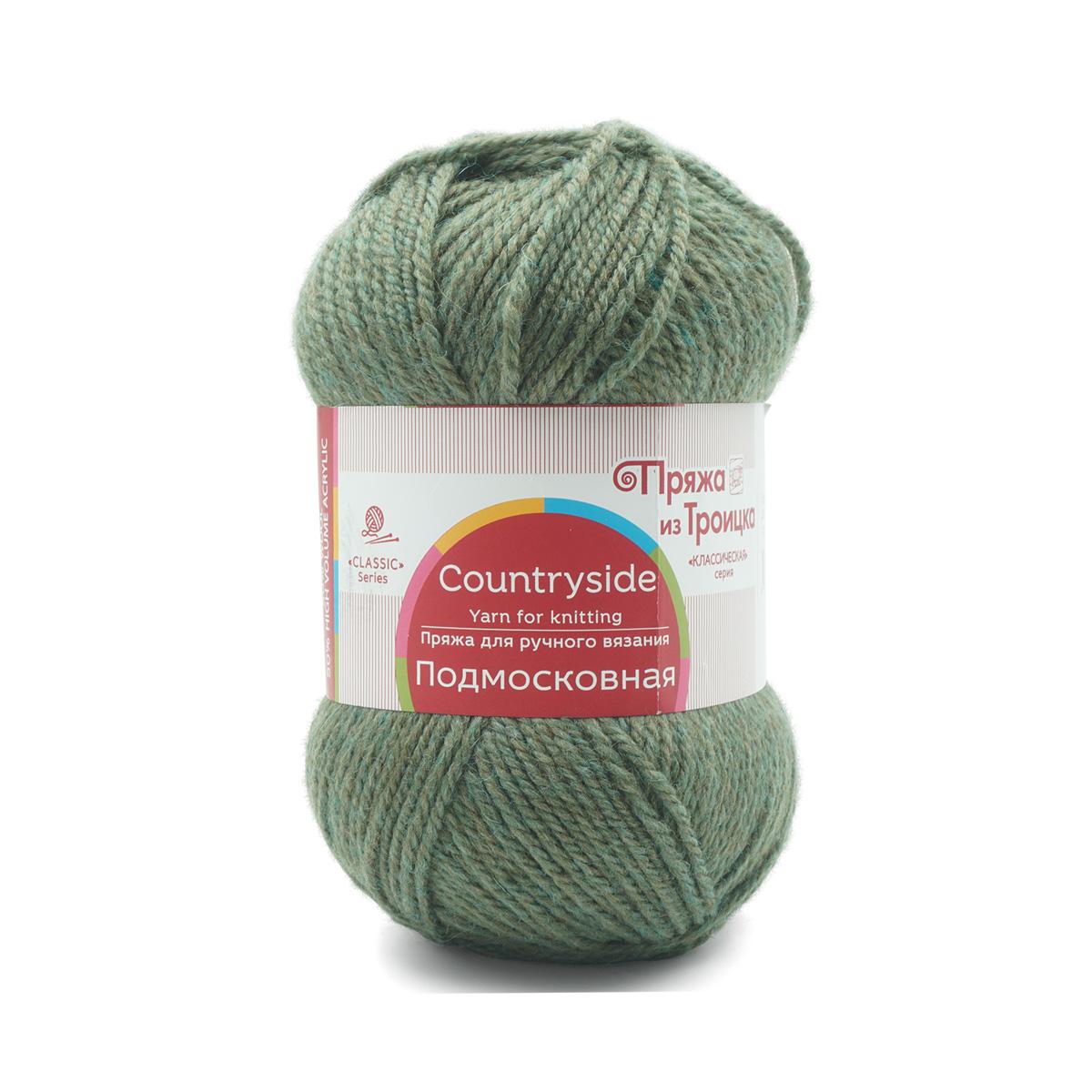 Пряжа из Троицка 'Подмосковная' (50%шерсть, 50%акрил)