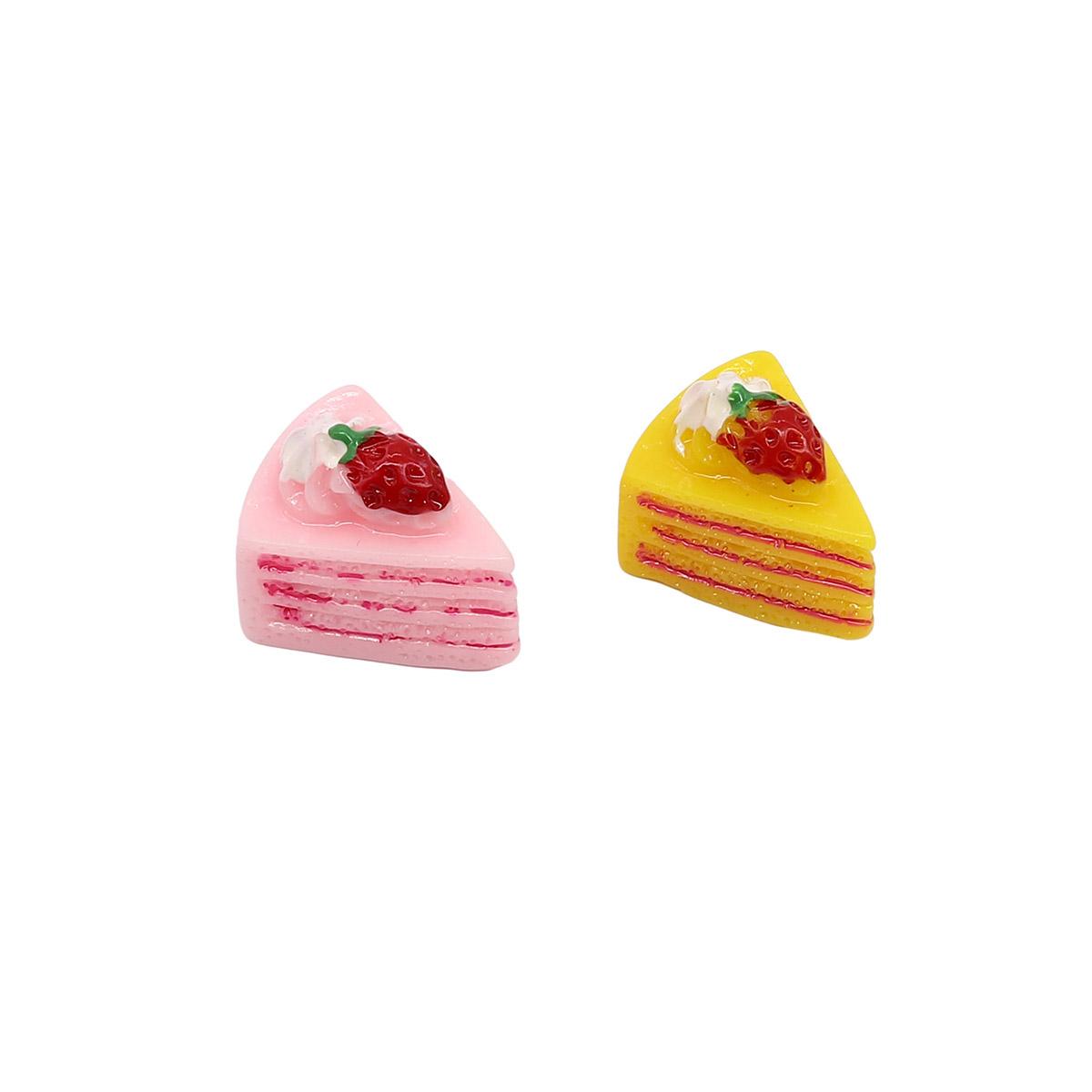 3AS-118 Миниатюра. Кусочки торта, 1,5см