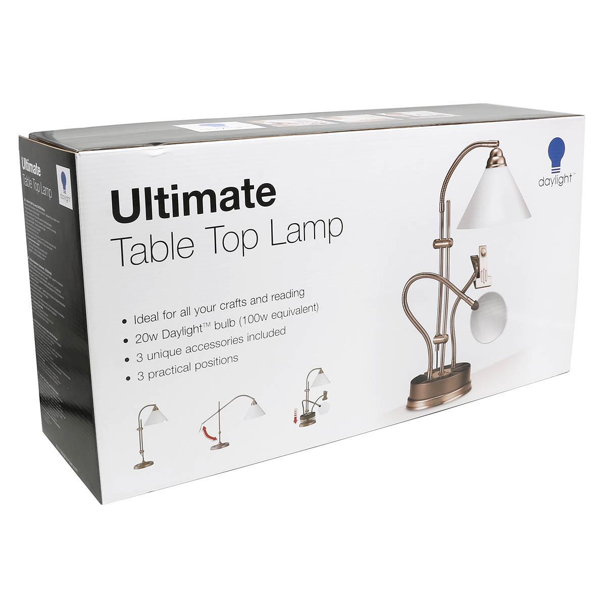 Лампа D,Е21038 настольная для рукоделия