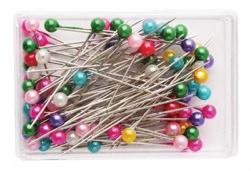 Булавки с перл. шариком в футляре 0333-3015 МС