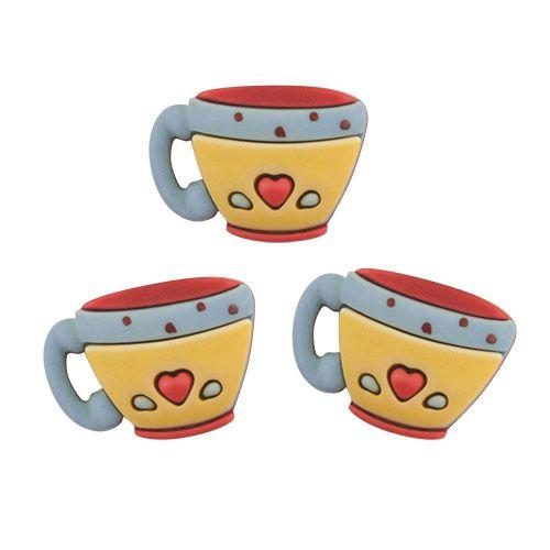 SD118, Пуговицы. Кофейные чашки