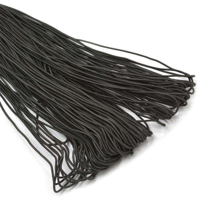 TBY Резинка шляпная (шнур круглый) 1,5мм*100м