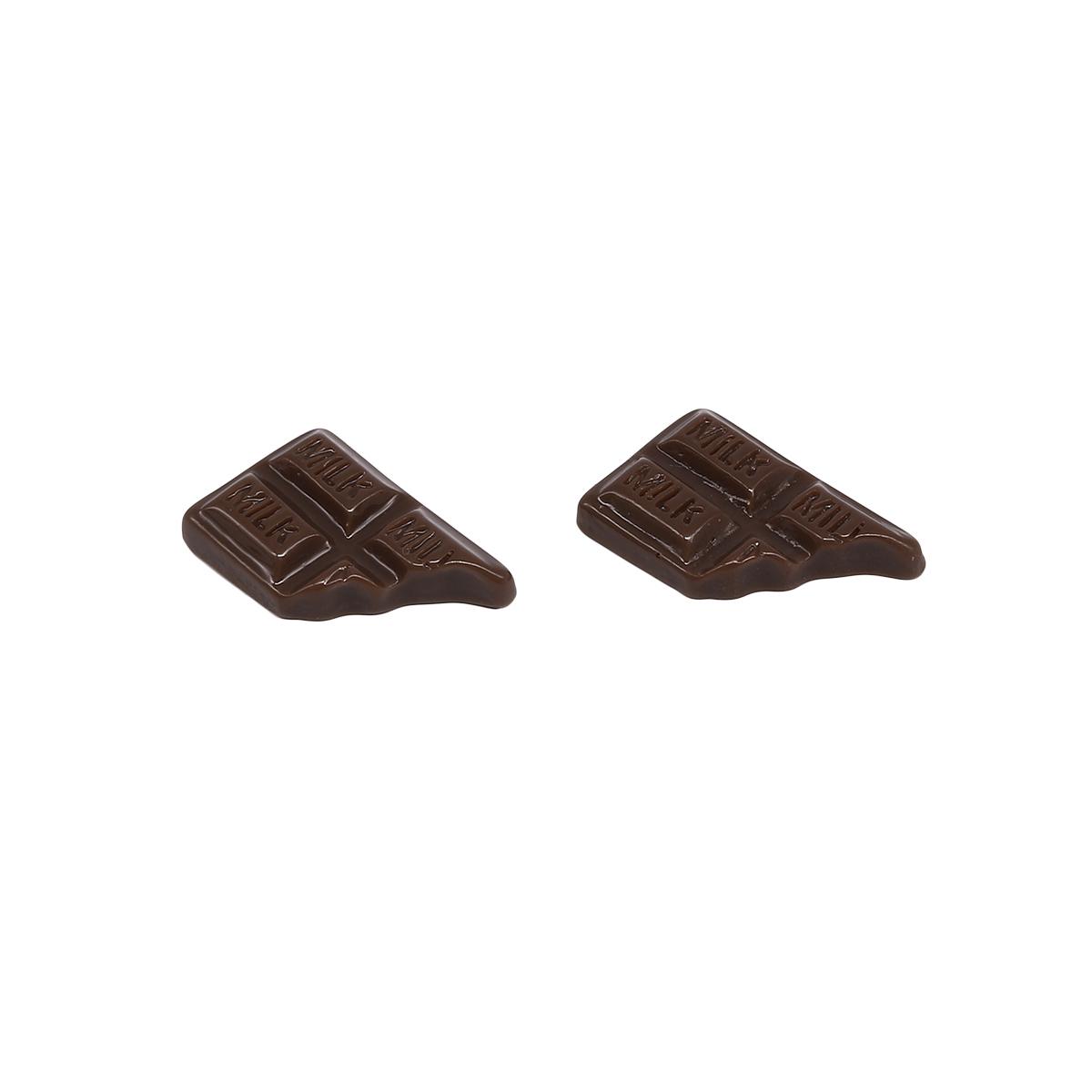 3AS-133 Миниатюра. Плитка шоколада, 2*1.3см