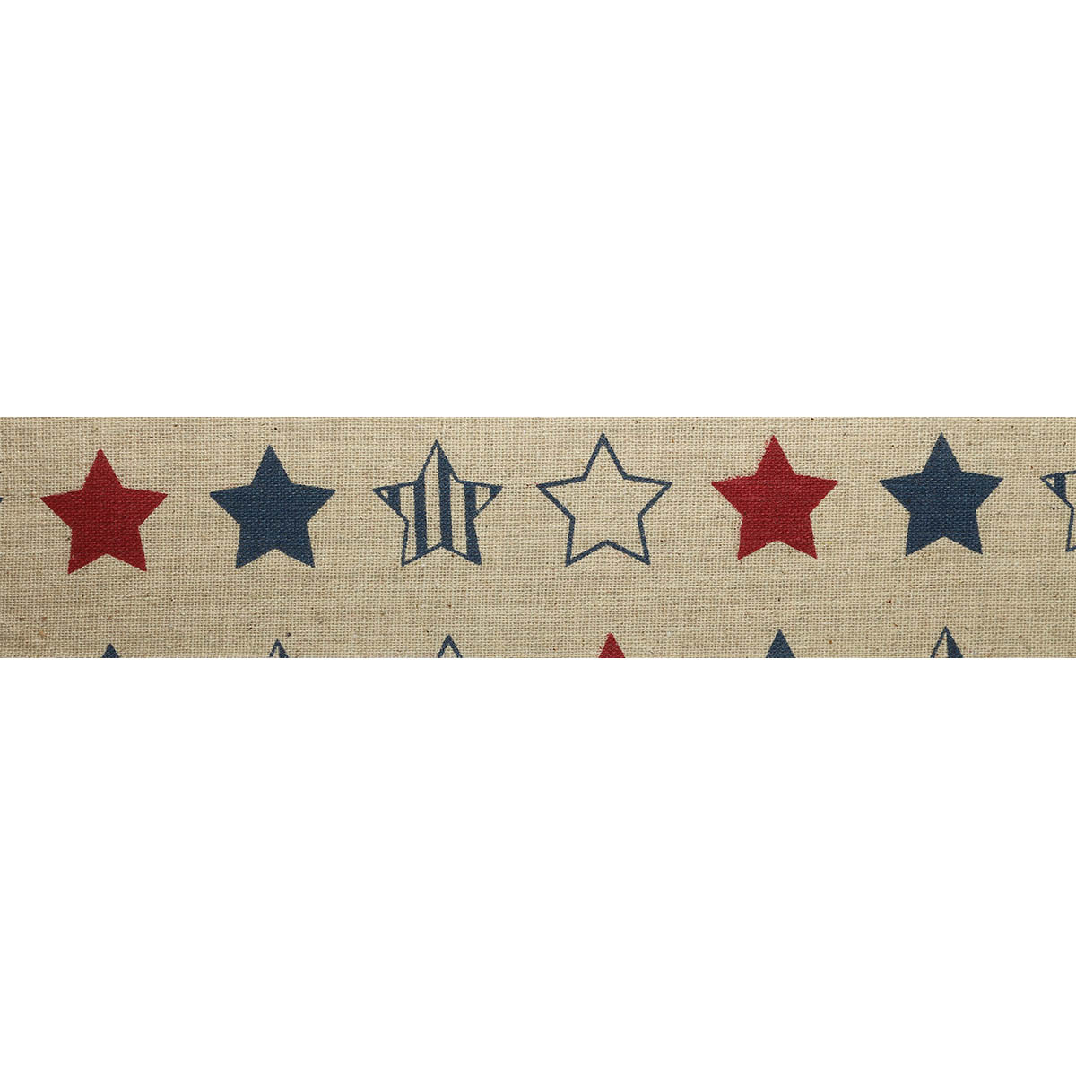 Полоска из декор.ткани с принтом (80%хлопок,20%лен), размер 6см*3м± 5см