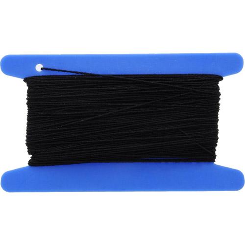 53302 Резинка вязальная 0,4 мм/20 м, черная PONY