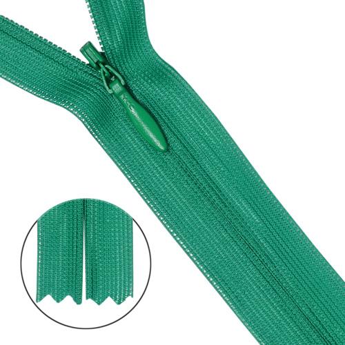 31329/50 Молния потайная тип 3 50см ярко-зелен.нейлон
