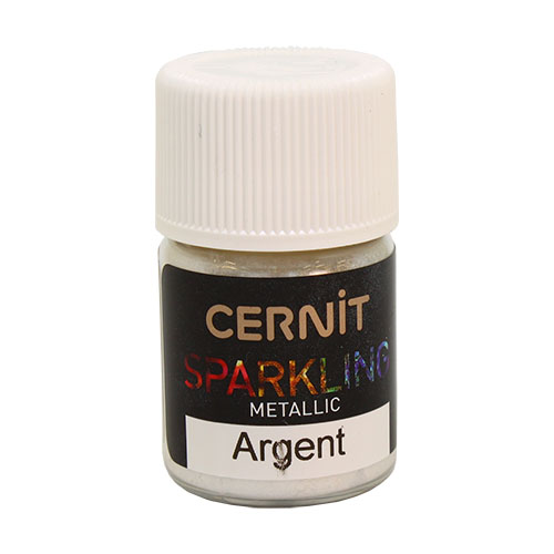 CE6100003 Мика-порошок (слюда) Metallic /металлик 'SPARKLING POWDER' 5 гр. Cernit
