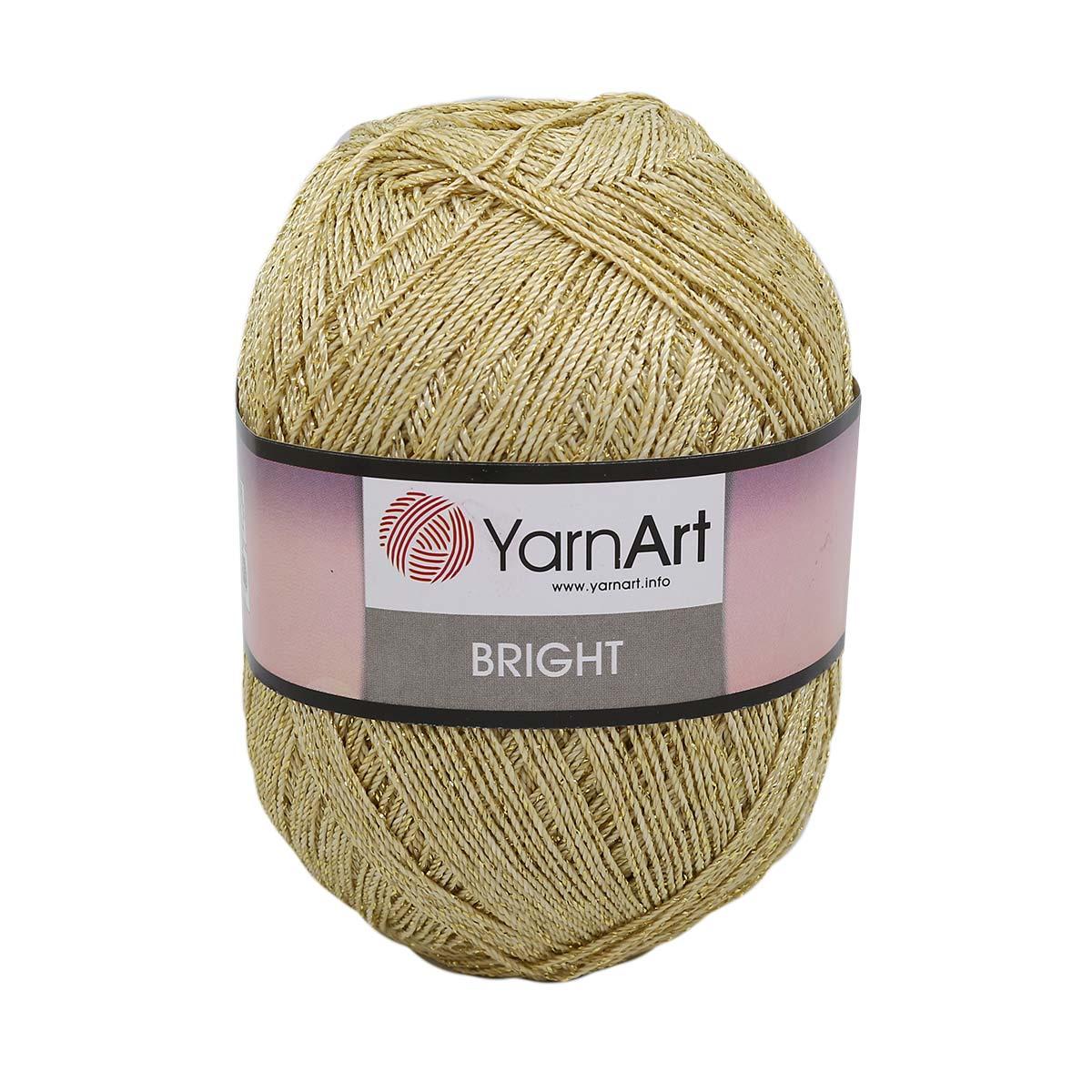 Пряжа YarnArt 'Bright' 90гр. 340м. (80%полиамид, 20%метанит п/э)ТУ