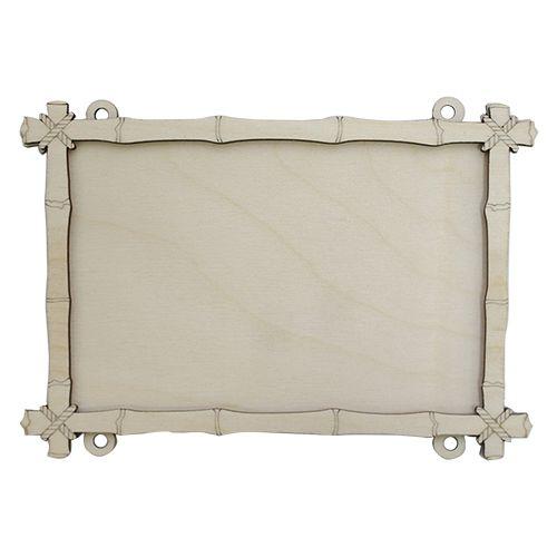 L-443 Деревянная заготовка рамка 'Бамбук' ,13*18 см, 'Астра'