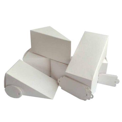 БОН400 Заготовки для бонбоньерок №4 'Тортик', комплект 6 шт., 10,3*5,3*5,3 см