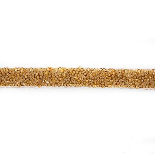 Тесьма декоративная термо 'Стразы' арт.2048 1,7 см * 5м