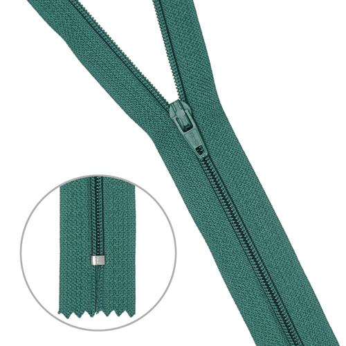 30106 Молния пластиковая т.зел тип-3 авт 20см