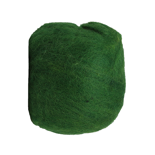 255031 Шерсть овечья для фелтинга (т.зеленый)50гр. Glorex