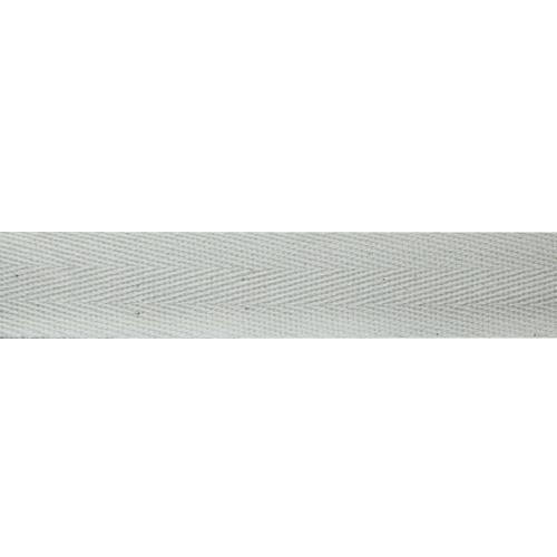 1025Б Лента киперная х/б 25мм*50м , белая