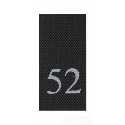 Этикетка-размерник, черный, 10*20 мм, упак./100 шт.