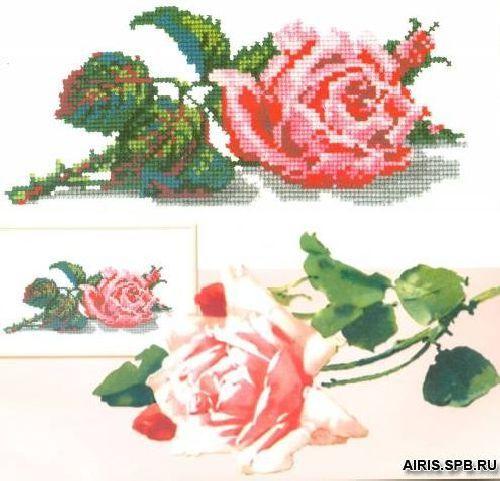 015 Набор для вышивания РC-Студия 'Роза' 9*22 см
