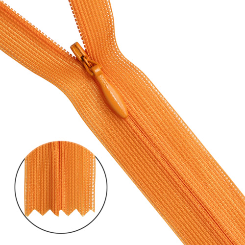 31312/50 Молния потайн. тип-3 50см св. оранж.