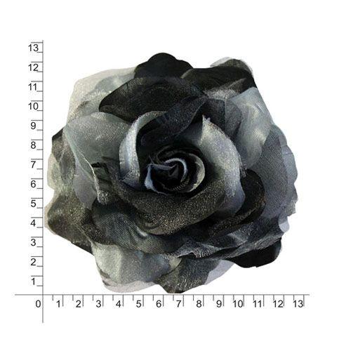 2038-6105 Брошь-цветок, 12,5 см, упак./12 шт.