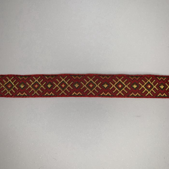 С3771Г17 Лента 'Славянский орнамент. Оберег', рис.9505, 18мм
