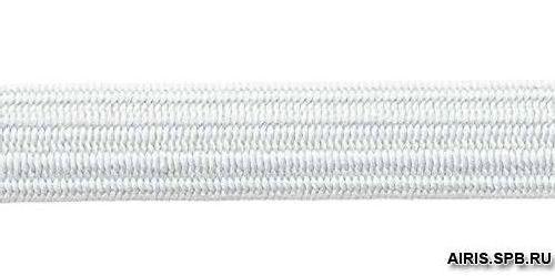 Тесьма эластичная,10мм бел. (10*10м) (С912)