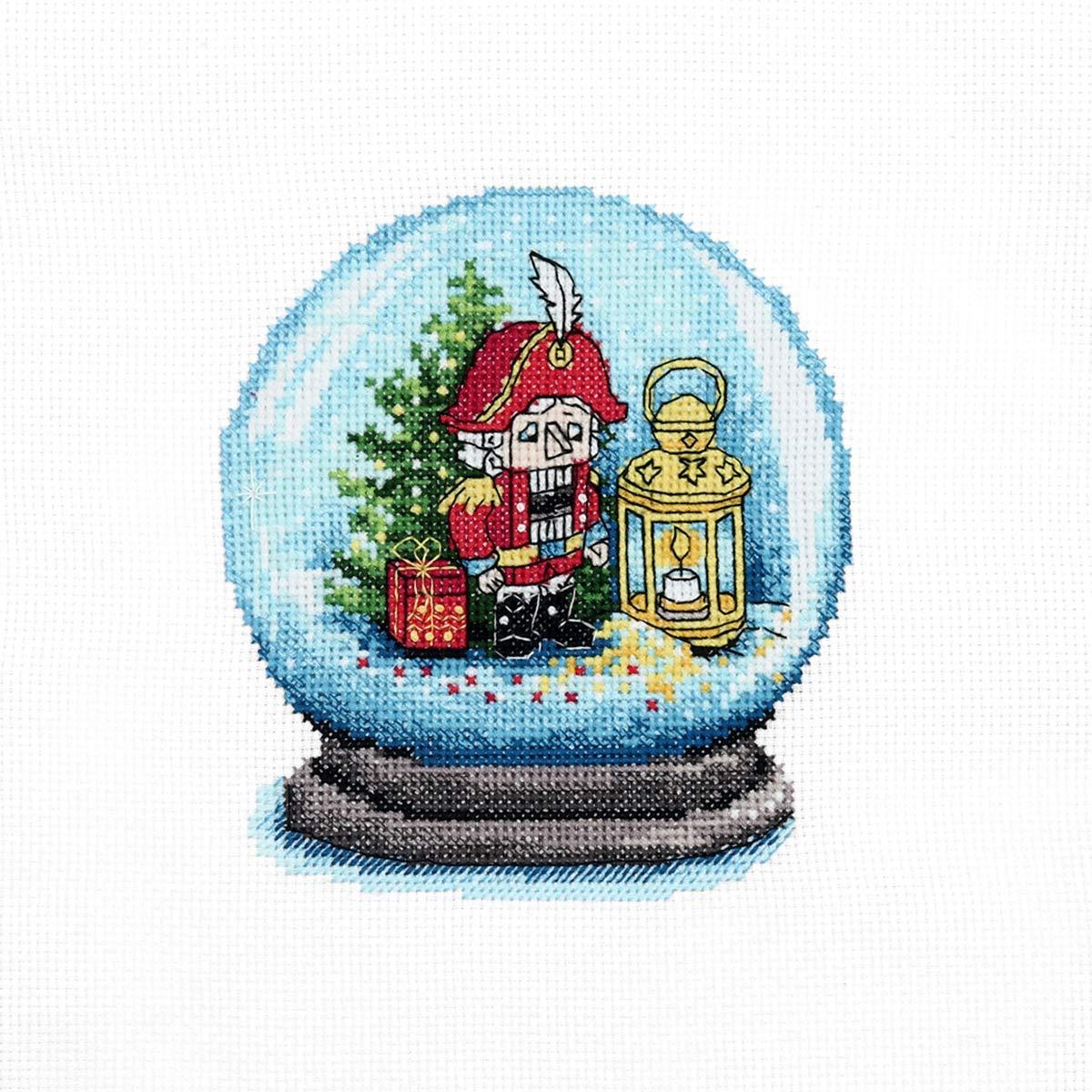 976 Набор для вышивания Hobby&Pro «Щелкунчик» 11*13см