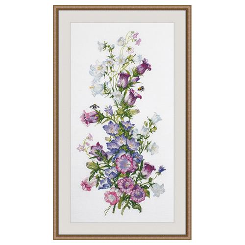 952 Набор для вышивания 'Овен' 'Весенняя композиция', 20*44 см