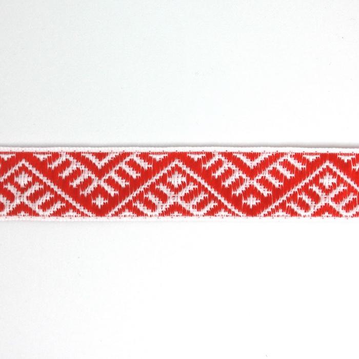 С3772Г17 Лента 'Славянский орнамент Оберег', рис.9467, 24мм