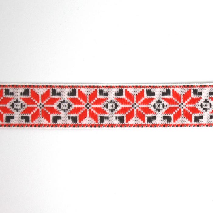 С3772Г17 Лента 'Славянский орнамент Оберег', рис.9455, 24мм