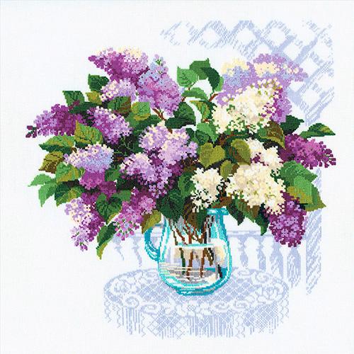 900 Набор для вышивания Riolis 'Аромат весны', 45*45 см