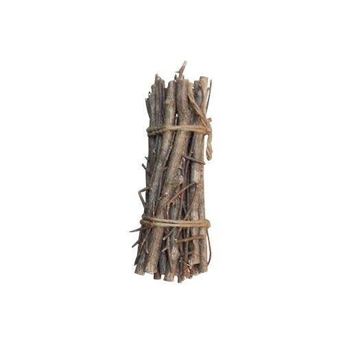 YW230 Хворост декоративный натуральный (орешник), 20см