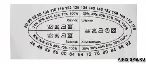 Этикетка детская, белый, 30*70 мм., упак./100 шт.