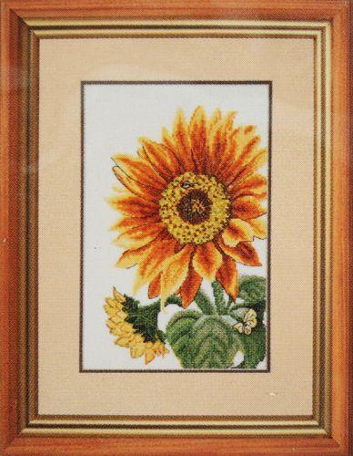 773 Набор для вышивания Hobby&Pro 'Цветок солнца', 16*27 см