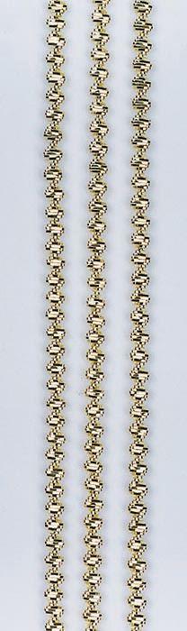62210122 Проволока декор. металл.(трунцал), золото d 3,0мм 2м Glorex