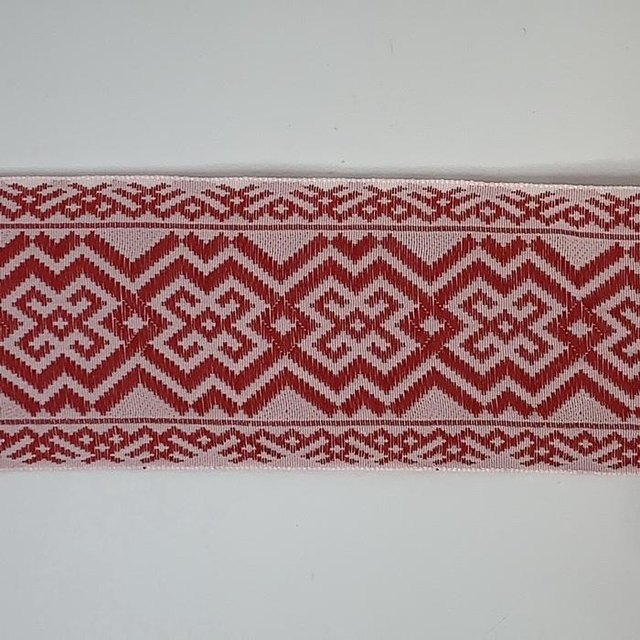 С3776Г17 Лента 'Славянский орнамент Оберег', рис.9449, 65мм