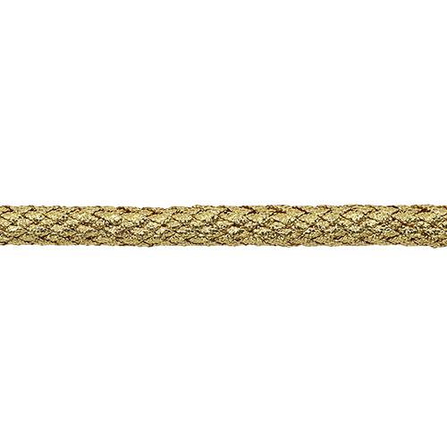 С972 Шнур отделочный плетеный, люрекс, 6 мм*30 м