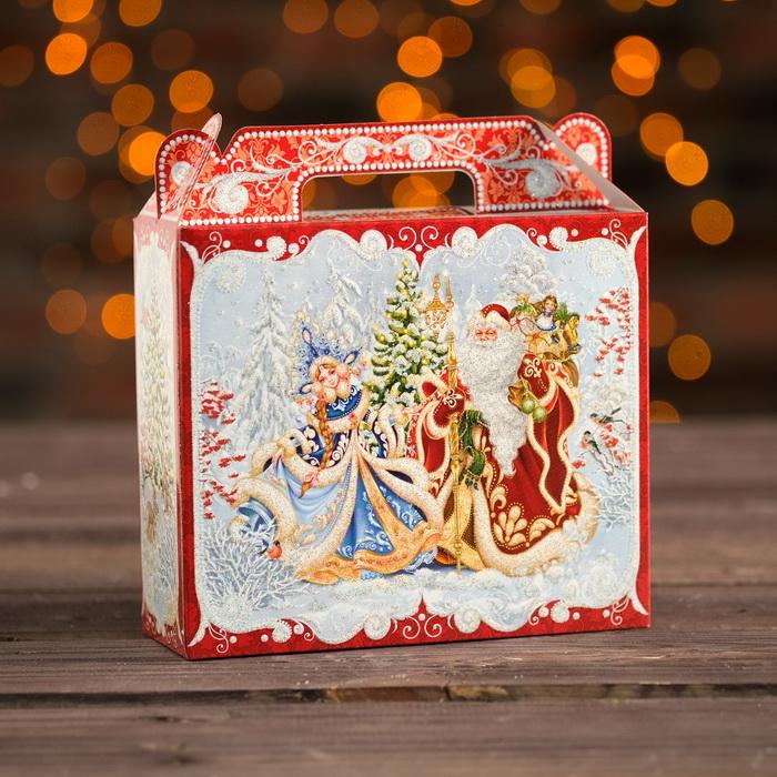 3865582 Подарочная коробка 'Чемоданчик малый 'Чудесный', 17,3 х 6,5 х 15 см