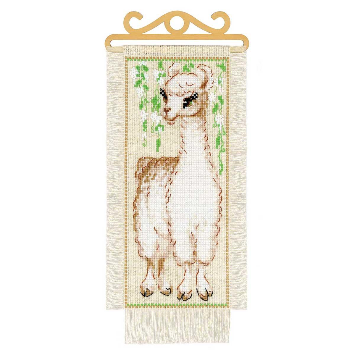 1890 Набор для вышивания Риолис 'Альпака'15*31см