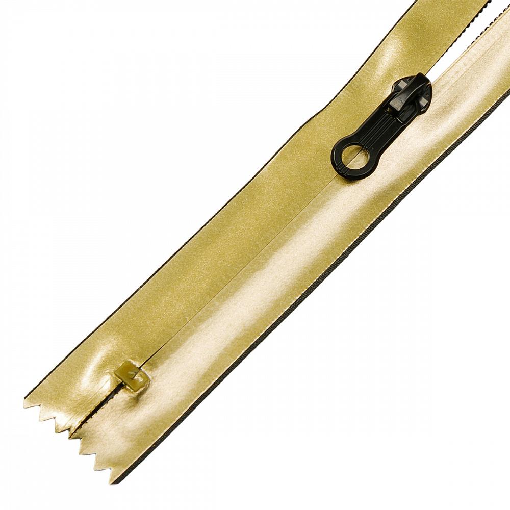 Молния MaxZipper спираль №7-N водонепроницаемая цв.золото 18см, FСВ5N18G