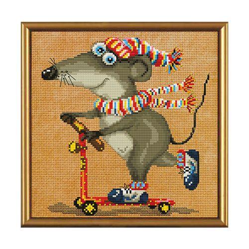 ННД5545 Набор для вышивания 'Нова Слобода' 'С ветерком', 20x20 см