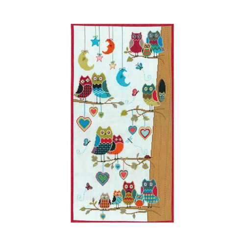 0241 Набор для вышивания Nitex 'Соседи', 30х56 см