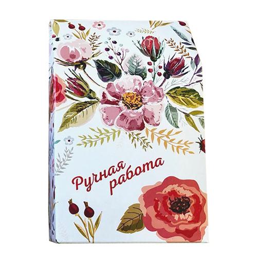 Декоративная упаковка 'Полевые цветы' (коробочка вертикальная) 17,5*11*5см