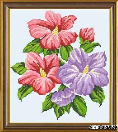 Бис3031 Рисунок на канве для вышивки бисером 'Флоксия'