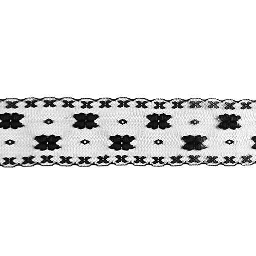 Кружево сетка 5,5см*25м 0623-1176