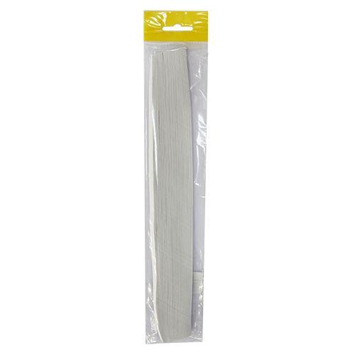 0018-2 (0047-2) Бумага для квиллинга белая, 80 гр., 5 мм