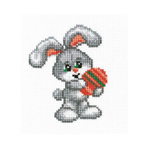 811 Набор для вышивания РC-Студия 'Зайчик' 10*13 см