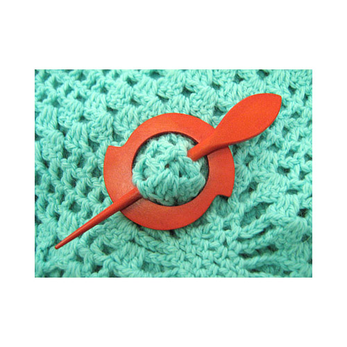 08-20.1-2 MH COLLECTIONS Заколка декоративная (цветная) 6,5 см х 6,5 см
