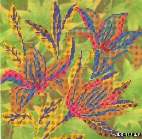 Бис3110 Рисунок на канве для вышивки бисером 'Вечерняя нежность'