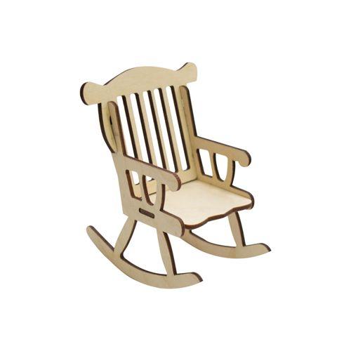 L-477 Деревянная заготовка 'Кресло-качалка' , 10*9 см, 'Астра'