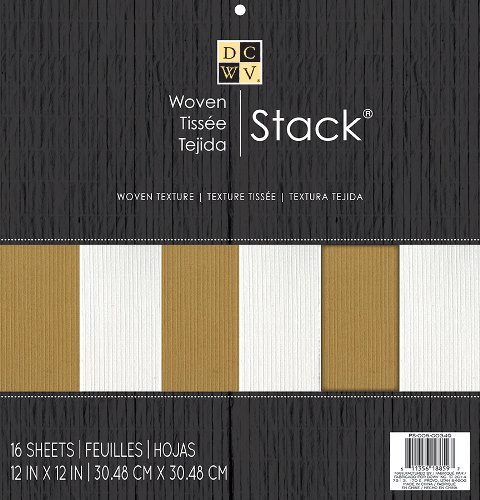 PS-005-00349 Набор бумаги 'WOVEN STACK' 30*30см, 16 листов
